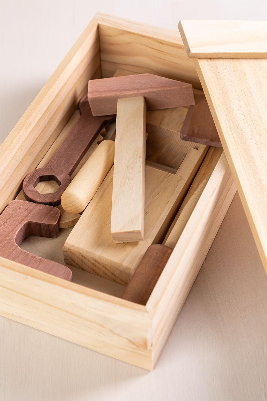 Decker Kids Caixa de ferramentas de madeira, imagem de galeria 1
