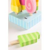 Conjunto de 6 sorvetes de madeira Friggo Kids, imagem miniatura 3
