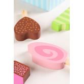 Conjunto de 6 sorvetes de madeira Friggo Kids, imagem miniatura 4