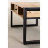 Mesa de centro de madeira reciclada (90x45 cm) Keblar , imagem miniatura 5