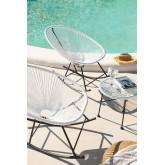 Conjunto de 2 cadeiras de balanço e mesa de Acapulco, imagem miniatura 1