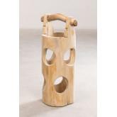 Suporte de guarda-chuva de madeira de teca Dred, imagem miniatura 1056623