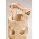 Suporte de guarda-chuva de madeira de teca Dred, imagem miniatura 1056629