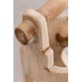 Suporte de guarda-chuva de madeira de teca Dred, imagem miniatura 1056633