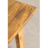 Banqueta baixa de madeira, imagem miniatura 5