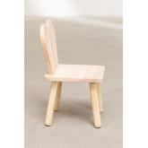 Cadeira de madeira Buny Style Kids, imagem miniatura 3