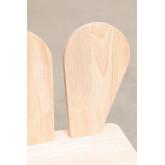 Cadeira de madeira Buny Style Kids, imagem miniatura 5