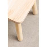 Cadeira de madeira Buny Style Kids, imagem miniatura 6