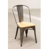 Cadeira LIX Escovada de Madeira, imagem miniatura 2
