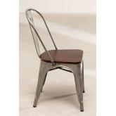 Cadeira LIX Escovada de Madeira, imagem miniatura 3