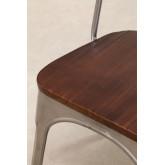Cadeira LIX Escovada de Madeira, imagem miniatura 6