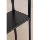 Estantes de parede modulares em metal (120 cm) Thura, imagem miniatura 5