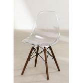Cadeira Brich Scand Transparente, imagem miniatura 2