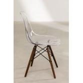 Cadeira Brich Scand Transparente, imagem miniatura 3