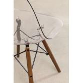 Cadeira Brich Scand Transparente, imagem miniatura 4