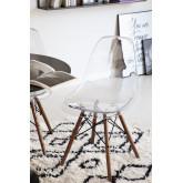 Cadeira Brich Scand Transparente, imagem miniatura 1