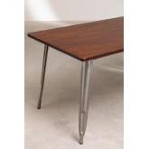 Mesa de madeira escovada LIX (160x80 cm), imagem miniatura 4