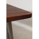 Mesa de madeira escovada LIX (160x80 cm), imagem miniatura 5