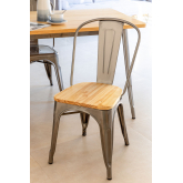 Cadeira LIX Escovada de Madeira, imagem miniatura 1