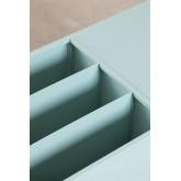 Mesa de centro com porta-revistas em metal Blas, imagem miniatura 5