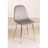 Pacote 4 cadeiras em veludo glamm, imagem miniatura 1