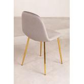 Pacote 4 cadeiras em veludo glamm, imagem miniatura 2