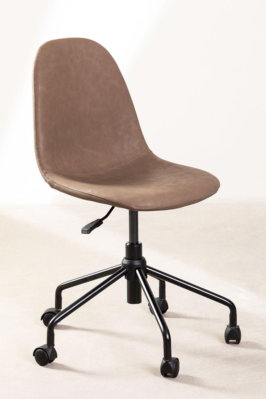 Cadeira de mesa Glamm Leatherette, imagem de galeria 1
