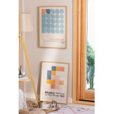 Conjunto de 2 Láminas Decorativas (50x70 cm) Auss, imagem miniatura 5