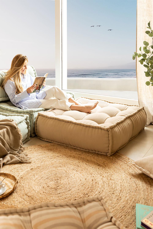 Almofada modular para sofá de algodão Yebel, imagem de galeria 1