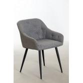 Cadeira de jantar em tecido Zilen, imagem miniatura 1