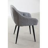 Cadeira de jantar em tecido Zilen, imagem miniatura 2