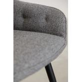 Cadeira de jantar em tecido Zilen, imagem miniatura 5
