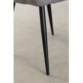 Cadeira de jantar em tecido Zilen, imagem miniatura 6