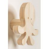 Cabide de parede de madeira Pol Kids, imagem miniatura 4