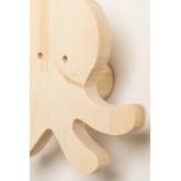 Cabide de parede de madeira Pol Kids, imagem miniatura 5
