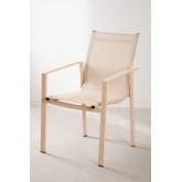 Pacote de mesa extensível ao ar livre (90 cm -180 cm) Starmi e 4 cadeiras ao ar livre Eika, imagem miniatura 6