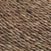 Tapete redondo de juta natural (Ø145 cm) Drak, imagem miniatura 2