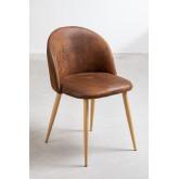 Kana Leatherette Cadeira de jantar estofada, imagem miniatura 2