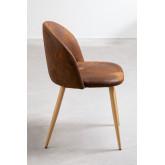 Kana Leatherette Cadeira de jantar estofada, imagem miniatura 3