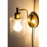 Lâmpada de parede ambe para quarto, imagem miniatura 4