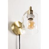 Lâmpada de parede ambe para quarto, imagem miniatura 5