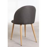 Cadeira de Jantar Em Linho Kana, imagem miniatura 5