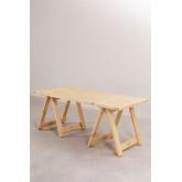 Mesa dobrável de madeira (180x90 cm) Anic, imagem miniatura 2