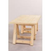 Mesa dobrável de madeira (180x90 cm) Anic, imagem miniatura 3