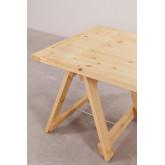 Mesa dobrável de madeira (180x90 cm) Anic, imagem miniatura 4