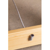 Mesa dobrável de madeira (180x90 cm) Anic, imagem miniatura 6