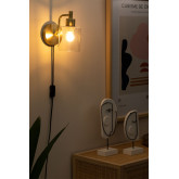 Lâmpada de parede ambe para quarto, imagem miniatura 2