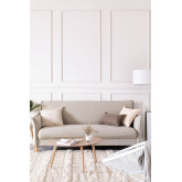 Sofá-cama de 2 lugares em tecido Shung, imagem miniatura 1