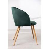 PACK 4 Cadeiras de Sala de Jantar em Veludo com Apoio de braços Kana, imagem miniatura 3
