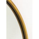 Espelho de parede clovis metal, imagem miniatura 4